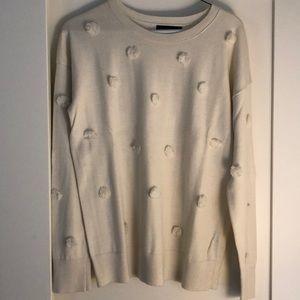 Great condition white banana republic sweater